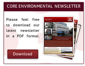 Download Core Environmental Services Latest Asbestos Removals Newsletter